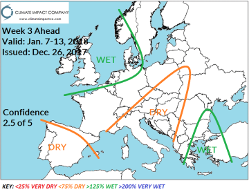 f1c487572e Comment  No change in the pattern as anomalous warmth dominates with wet  weather across U.K. to France.