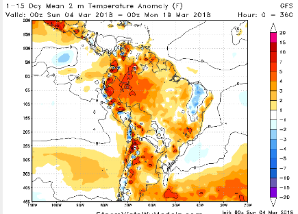 1-15 day South American temps